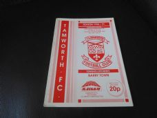 Tamworth v Barry Town, 1990/91 [LWC]